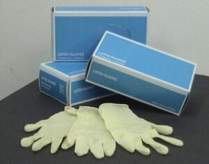 surggical gloves